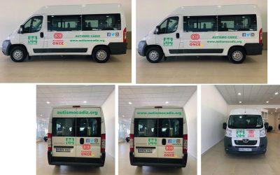 Agradecimientos a Fundación ONCE por la nueva furgoneta