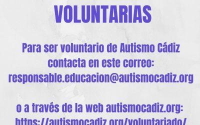 Buscamos persona voluntarias