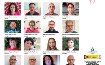 Camapña electoral de representantes de Plena Inclusión Andalucía