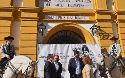Acto en la Real Escuela Andaluza de Arte Ecuestre