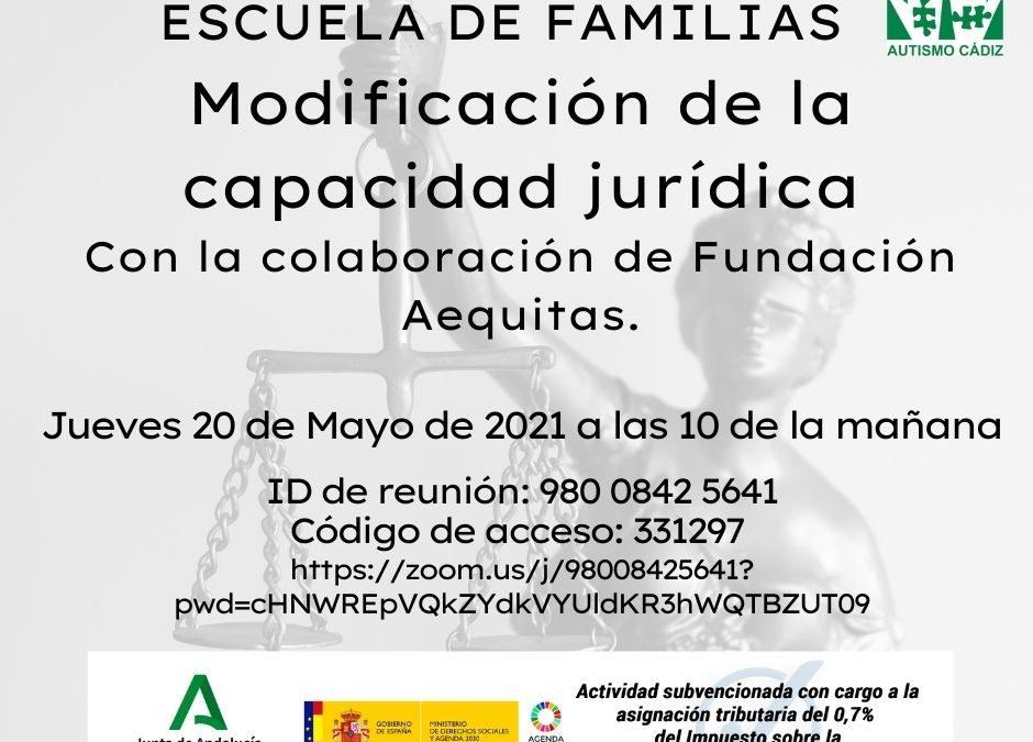 Escuela de familias, Mayo 2021