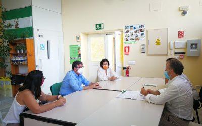 Visita en la sede de Puerto Real