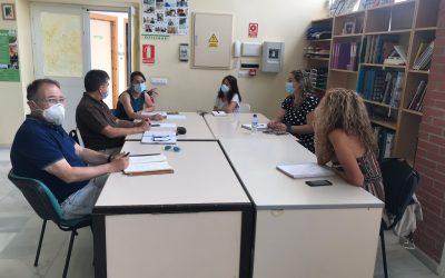 Reunión con los coordinadores de Salud Mental
