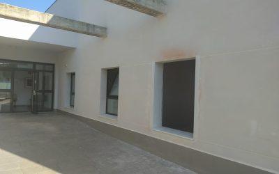 Obras de ampliación de la sede de Jerez